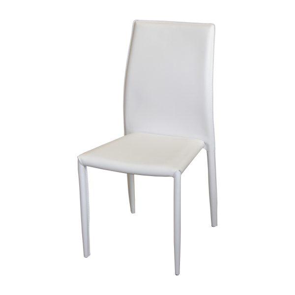 Jedálenská stolička ADRIA biela