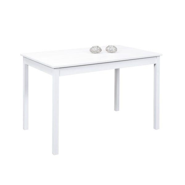 Jedálenský stôl PALE biely lak