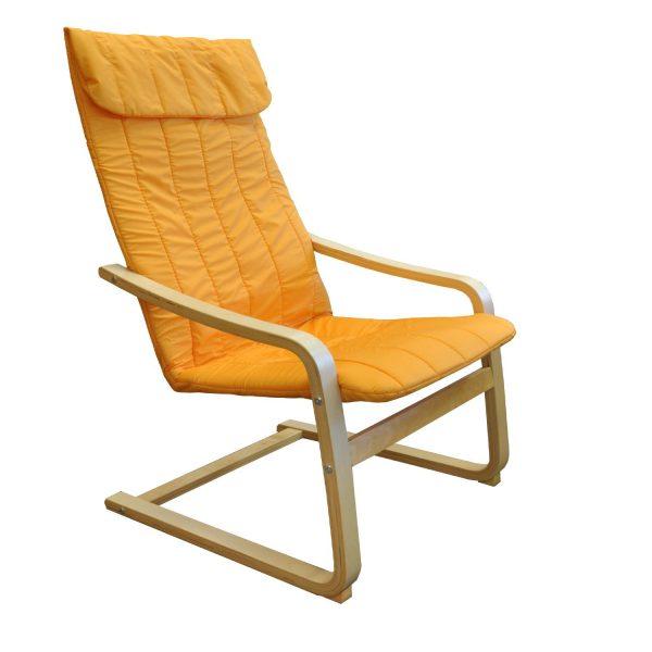 Kreslo LISA oranžové K79