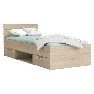 Multifunkčná posteľ 90x200 MICHIGAN dub