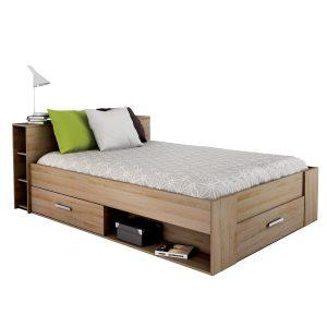 Multifunkčná posteľ POCKET 140x200 159571 dub