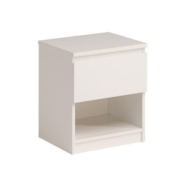 Nočný stolík NUOVO biely