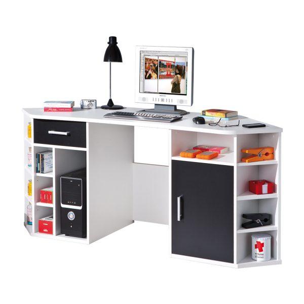 PC rohový stôl FABRI