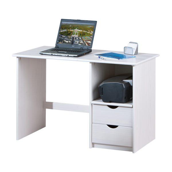 PC stôl SINUS biely
