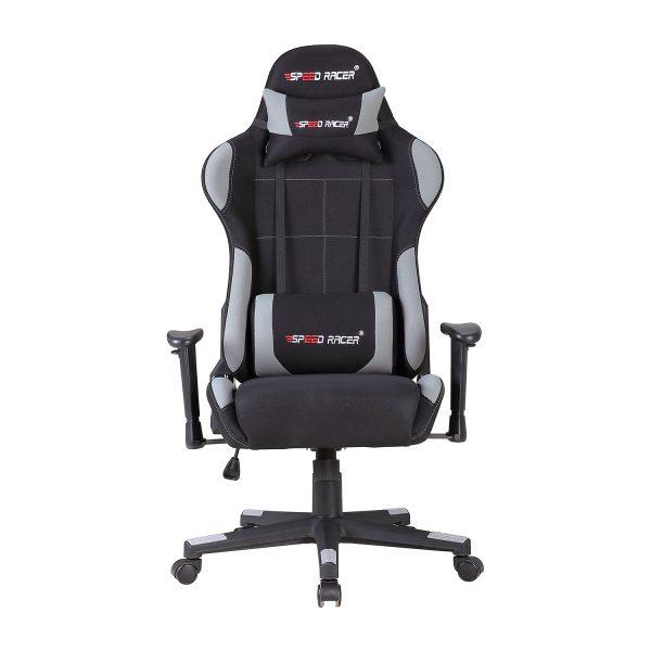 Racing chair SPEED RACER sivý