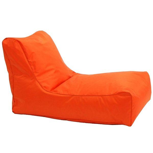 Sedacie kreslo LOUNGE oranžové V4