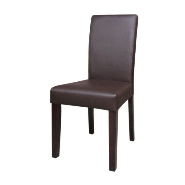 Stolička PRIMA hnedá 3035