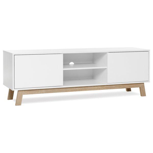 TV stolík APART 8 biela/dub