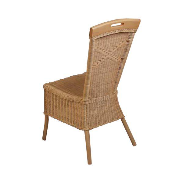 Jedálenská stolička ratan lak