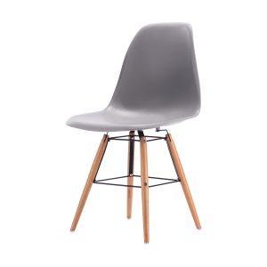 Jedálenská stolička GIOVANNI sivá