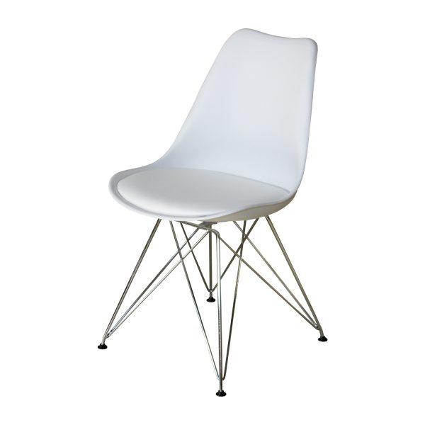 Jedálenská stolička PITU biela