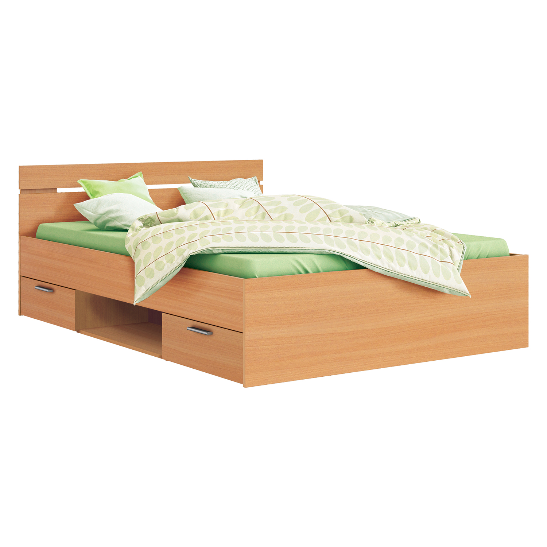91c9a8d442fd7 Multifunkčná posteľ 140×200 MICHIGAN buk | Stolyastolicky.sk