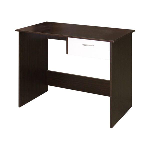 Písací stôl 60042 mahagón/biela