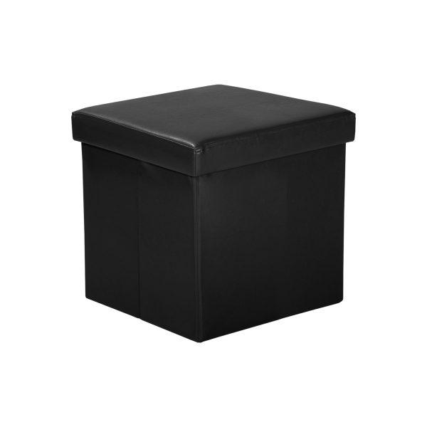 Sedací úložný box čierny