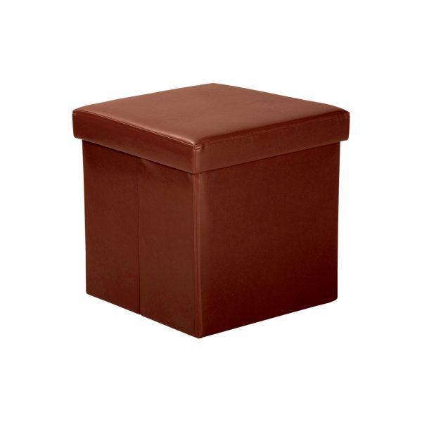 Sedací úložný box hnedý
