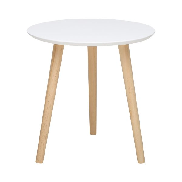 Odkladací stolík IMOLA 1 biely/borovica