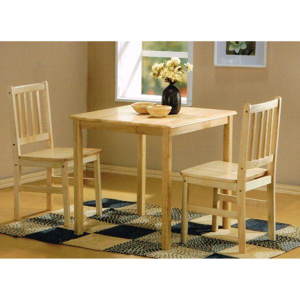 Stôl + 2 stoličky GENT lak