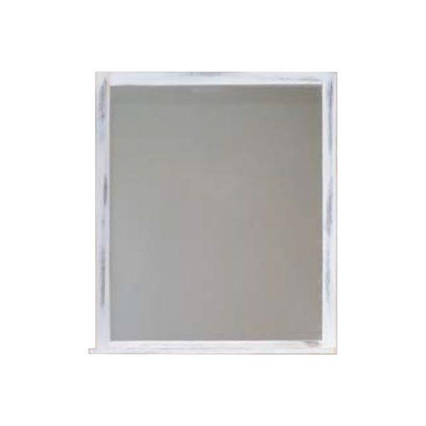 Zrkadlo biela antik