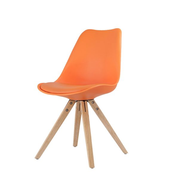 Jedálenská stolička LADY oranžová