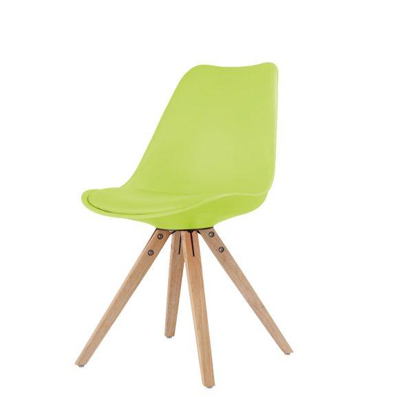 Jedálenská stolička LADY zelená