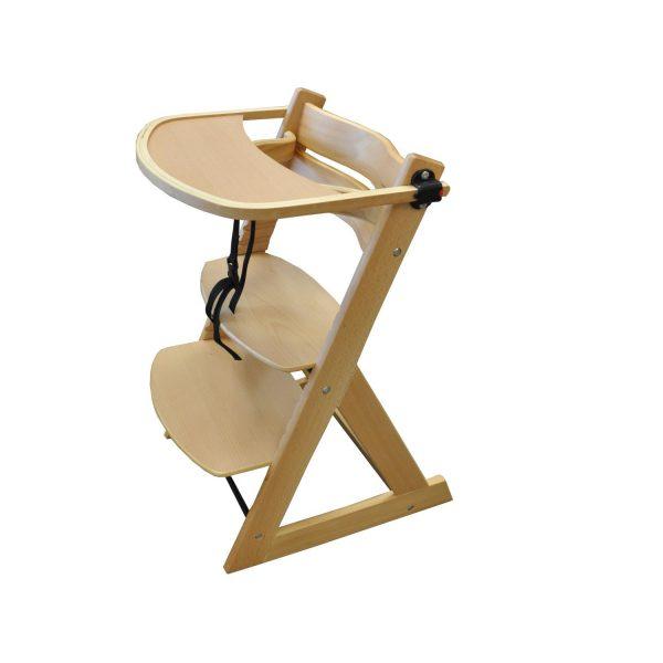 Rastúca detská stolička BABY s táckou
