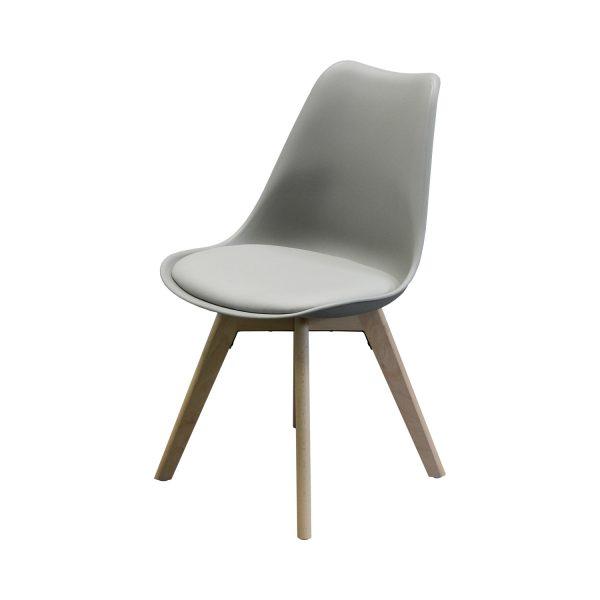 Jedálenská stolička QUATRO sivá