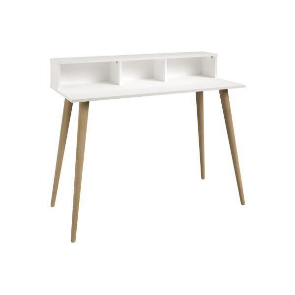 Písací stôl NORSK dub/biela