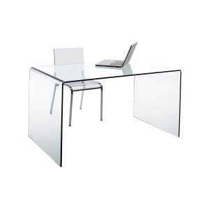 Písací stôl sklo