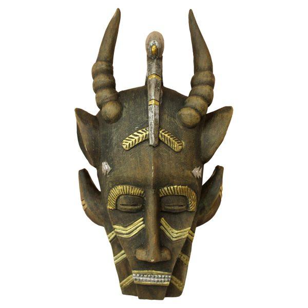 Závesná dekoratívna maska MOSSI