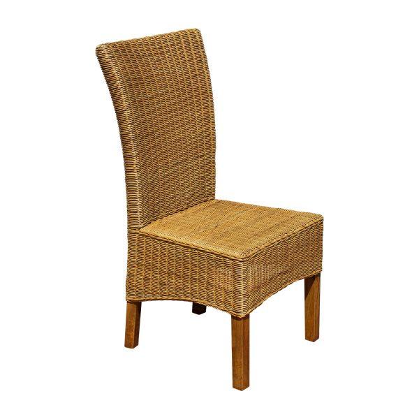 Jedálenská stolička ratan
