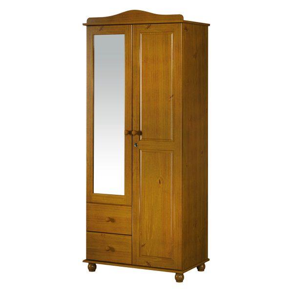 Skriňa 2-dverová GRAND PRIX hnedá
