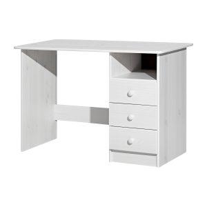 PC stôl 8844B biely lak