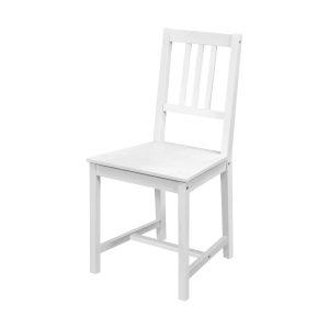 Stolička 869B biely lak