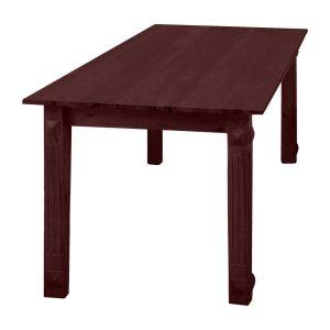 Jedálenský stôl hnedý