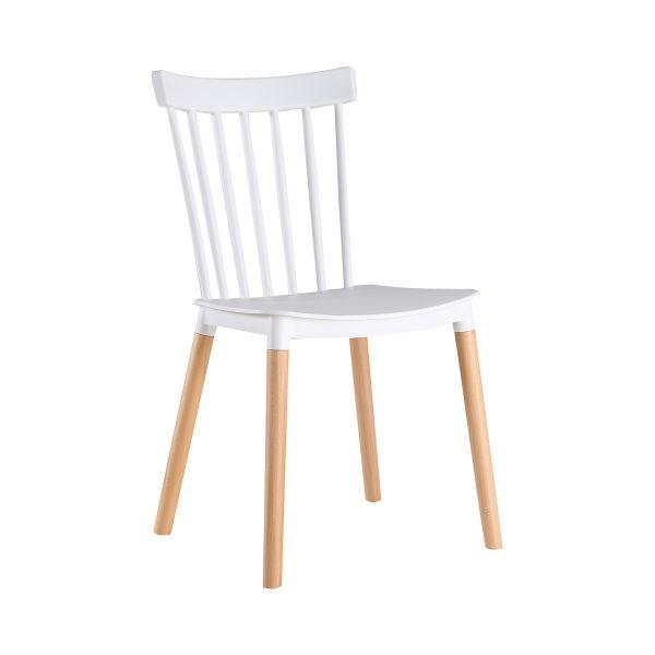 Jedálenská stolička BETA biela