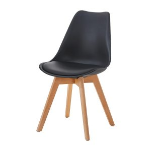 Jedálenská stolička QUATRO čierna