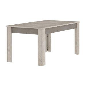 Jedálenský stôl 170x90 ANTIBES dub/béžový betón