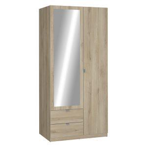 Skriňa 2-dverová MELLIE dub