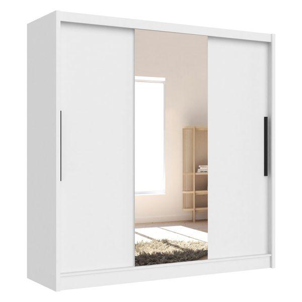 Skriňa s posuvnými dverami ARIS I biela
