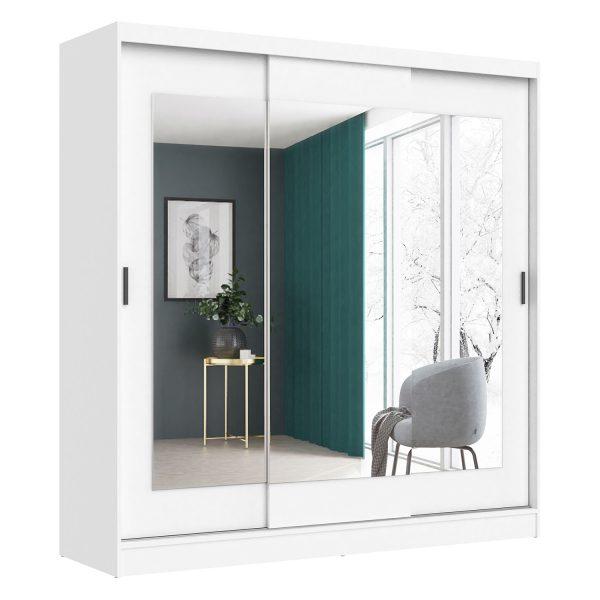 Skriňa s posuvnými dverami ARIS II biela