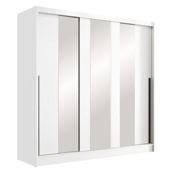 Skriňa s posuvnými dverami ARIS III biela