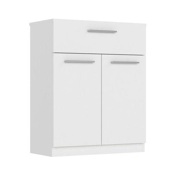 Komoda 2 dvere + 1 zásuvka SURREY biela