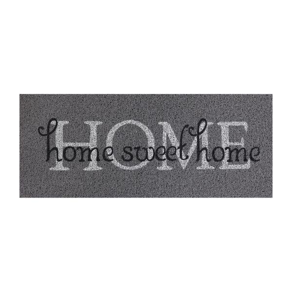 Rohožka Home sweet home sivá