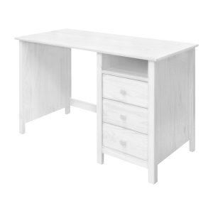 Písací stôl TORINO biely